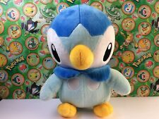 "Pokemon Plush Piplup Tomy Takara 14"" Big Life Japan Center doll stuffed figure"