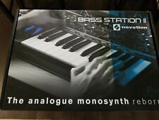 Novation Bass Station II Keyboard Synthesizer , brand new