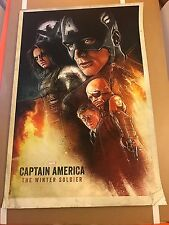 RARE commissioned wrap gift from filmmakers & Marvel Execs CAPTAIN AMERICA SOLDI