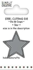 DOVECRAFT SIMPLY CREATIVE SMALL STEEL CUTTING DIE - EMBOSSED STAR
