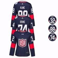 2016 NHL Adidas Premier World Cup Of Hockey USA Player Jersey Collection Women's
