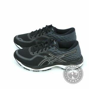 NEW ASICS Women's Gel-Cumulus 19 Running Shoes in Black / White / Black - 8.5