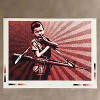 Shepard Fairey Duality of Humanity 5 Artist Press Proof Art Print Obey Giant