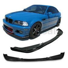 Made for 2001-2006 BMW E46 Coupe M3 ONLY Type-H Front PU Bumper Chin Lip