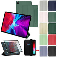 """For Apple iPad Pro 11""""/12.9"""" 2020 Slim Magnetic Smart Cover Leather Stand Case"""