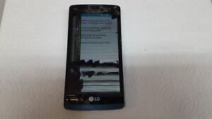 LG TRIBUTE 2 LS665 BLUE BOOST (*CRACKED SCREEN*BAD DIGITIZER*)