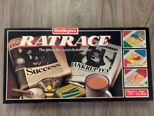 1980's Vintage Ratrace Board Game Social Climbers Waddingtons Complete