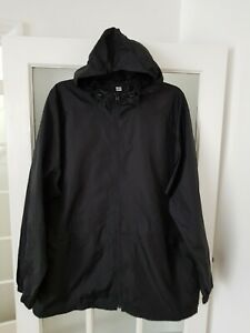 UNIQLO  Raincoat, Hooded Rain Cover, Packable Parka Loose Fit Size XL-XXL  BNWT