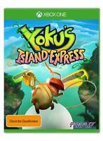 Yokus Island Express Modern Fun Pinball Style Rare Game Microsoft XBOX One XB1 X