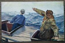 alte AK Norwegisches Lotsenboot Christian Krogh Sammlung Dresden Seefahrt 1930