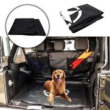 Pet Dog Mat Storage Cargo Liner Rear Seat Cover For Jeep Wrangle JK 4-Door 07~17