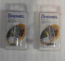 Dremel Tool 403 Bristle Brushes (2pk) - Clean And Polish