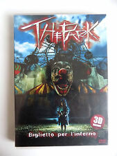 """DVD """"THE PARK. BIGLIETTO PER L'INFERNO"""" 3D VERSION 2003 HORROR - A8"""