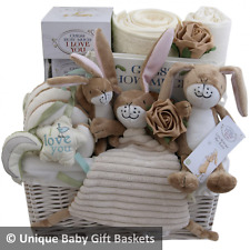 Guess How Much I Love You 3 toys/keepsake/book baby gift basket/hamper unisex