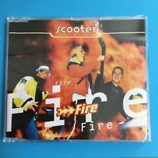 SCOOTER - Fire (Rare 1997 *NEW SEALED* CD Single 4 Tracks)