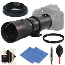 Vivitar 420mm-800mm F8.3 Telephoto Zoom Lens for Canon 80D, 77D, 70D, 60D, 7D 6D