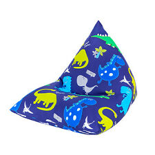 Dinosaurs Large Children's Kids Pyramid Bean Bag Chair Gaming Beanbag Gamer
