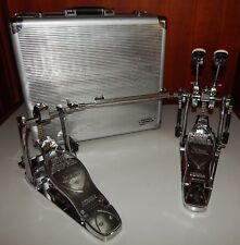 2006 Tama Limited Edition Chrome Cobra Double Kick Drum Pedal Iron Bass Pedals