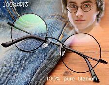 Round titanium eyeglasses Harry Potter circle glasses mens RX Optical eyewear
