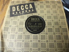 """Decca 10"""" 78/Tony Martin&Frances Langford/All The Things You Are/Why Do I Love/E"""