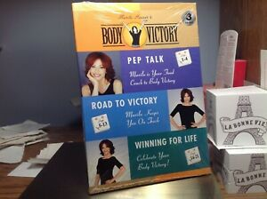 "NIP! ""MARILU HENNER'S BODY VICTORY"" 3 CD SET ""PEP TALK,ROAD/VICTORY,WINNING/LIFE"