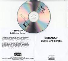 SEBADOH Bubble And Scrape 2008 UK 32-track promo test CD Lou Barlow