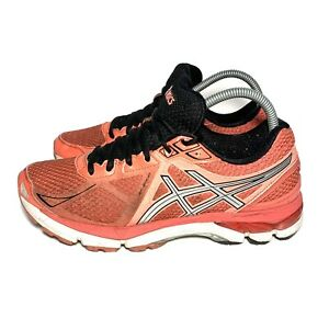 ASICS GT-2000 3 Running Shoes Pink Black T550N Womens Size 8.5