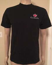 Vintage Roots Athletics CANADA Embroidered Logo T Shirt Size Medium USA Made