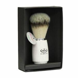 Omega Hi-brush Luxury Synthetic Badger Shaving Brush (ash wooden handle) 46711