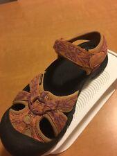 Keen Women's 6 M  Sport Sandals Orange Waterproof Good Used Condition