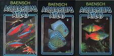 BAENSCH Aquarium Atlas Volume 1 + 2 + 3 Softcover (Volumes 1 & 2 NEW EDITION)