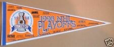 """1998 NHL Stanley Cup Playoffs All Teams 30"""" Pennant"""
