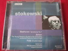 STOKOWSKI - BEETHOVEN / BRITTEN / FALLA - BBC LEGENDS (CD 1998 UK)