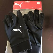 Men's Youth Puma Field Player Gloves Full Finger Great Grip Football Size 7