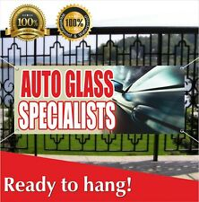 Auto Glass Specialists Banner Vinyl / Mesh Banner Sign Windshield Business