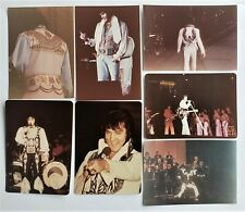 Elvis Presley - 7 Original Concert Photos - 1974 to 1976 - Set 2