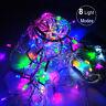 10M 100 LED Christmas Tree Fairy String Party Lights Lamp Xmas Waterproof Decor