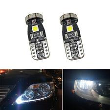 10Pcs 12V T10 168 2825 W5W 194 LED Bulb CANBUS 3smd 3030 Interior Car Light Top