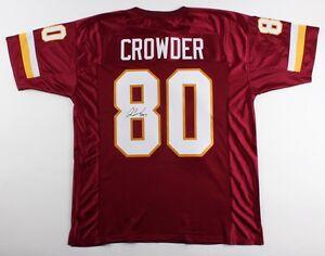 Jamison Crowder Signed Redskins Jersey (JSA) 2015 4th round Draft Pick from Duke