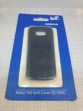 Original genuine Nokia 700 Soft cover black CC-1022 NEW