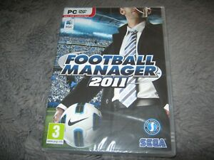 Football Manager 2011 (PC: Mac and PC,) New Sealed