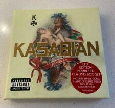 KASABIAN Empire Album CD/DVD Box Set - Ltd Numbered Box