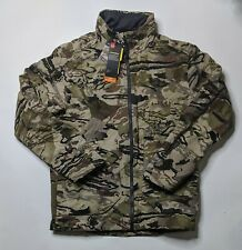 Under Armour Grit Camo Mid Season Hunting Jacket Barren Mens 1320252 999 Size M