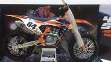 Coffret cadeau Jeffrey Herlings Red Bull Ktm SXF 450 Nº 84 2017 Diecast Modèle Vélo