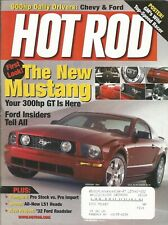 FEBRUARY 2004 HOT ROD MAGAZINE MUSTANG 300HP GT FORD CHEVY PRO STOCK VS IMPORT