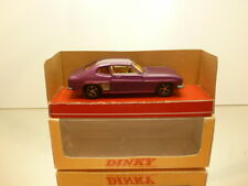 DINKY TOYS FORD CAPRI - PURPLE METALLIC 1:43 - VERY GOOD CONDITION IN BOX