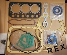 Mitsubishi S3L, S3L2 Gasket kit complete with gasket and seals. 78mm bore 3 cyl