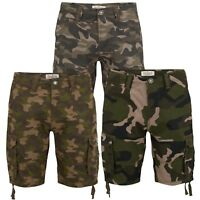 Mens Army Camo Cargo Shorts Stallion Camouflage Casual Cotton Combat Work Pants
