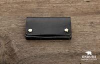Ondura Biker Wallet Geldbeutel Geldbörse Leder schwarz  - Hand Made in Germany