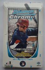 2011 Bowman Chrome Baseball Factory Sealed Hobby Box TROUT HARPER RC